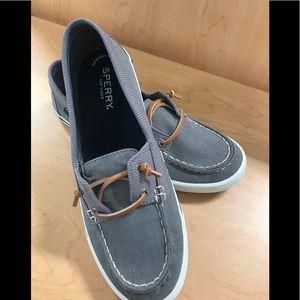 Sperry® Lounge Away Grey Memory Foam Sneakers